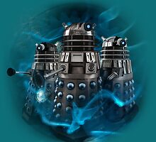 Doctor Who - Old Colours, New Daleks by Sam Richard Bentley