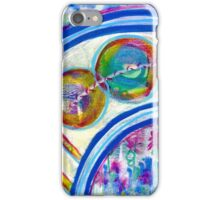 Energetic Playground: Inner Power Painting iPhone Case/Skin