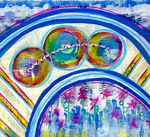 Energetic Playground: Inner Power Painting by mellierosetest