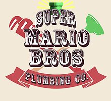 Mario Bros Plumbing Co. by GeekLoot