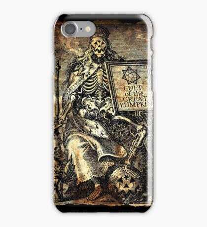 Cult of the Great Pumpkin: Worm King iPhone Case/Skin