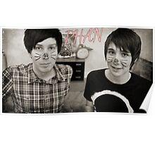 Dan and Phil=Phan Poster