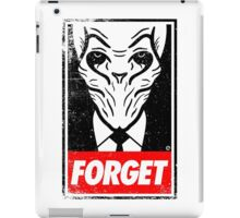 Obey The Silence iPad Case/Skin