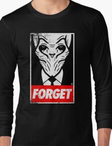 Obey The Silence Long Sleeve T-Shirt