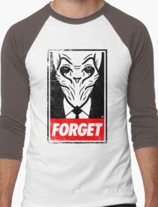 Obey The Silence Men's Baseball ¾ T-Shirt