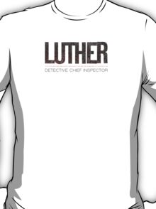 Luther - Black T-Shirt