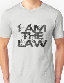 Dredd - I Am The Law T-Shirt