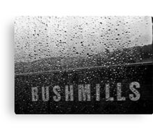 Bush & Water Canvas Print
