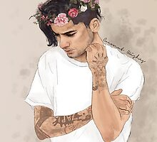 Zayn floral crown by coconutwishes