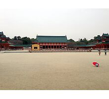 Heian Shrine, March 2013: Photo Friday at meauxtaku.com Photographic Print