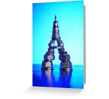 Bolty Eiffel Greeting Card
