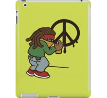 cartoon rasta reggae peace and love iPad Case/Skin
