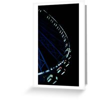 Big Wheel Greeting Card