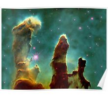 Pillars of creation - Space art Poster