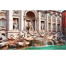 Trevi Fountain III Photographic Print