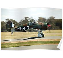 C.A.C  BOOMERANG  RAAF  WW2  Fighter  Aircraft  Poster