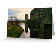 Trim Castle's grounds Greeting Card