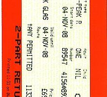 Glasgow train ticket ACDC by ross-Gardiner