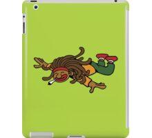 cartoon rasta reggae fly hight iPad Case/Skin