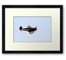 C.A.C  BOOMERANG  RAAF  WW2  Fighter  Aircraft   Framed Print