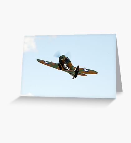 C.A.C  BOOMERANG  RAAF  WW2  Fighter  Aircraft   Greeting Card