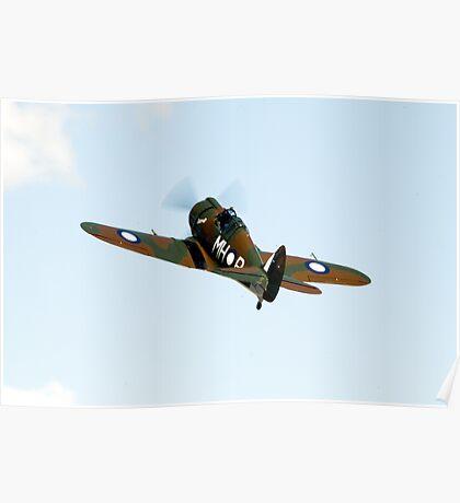 C.A.C  BOOMERANG  RAAF  WW2  Fighter  Aircraft   Poster