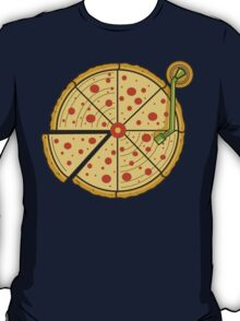 Pizza Vinyl T-Shirt