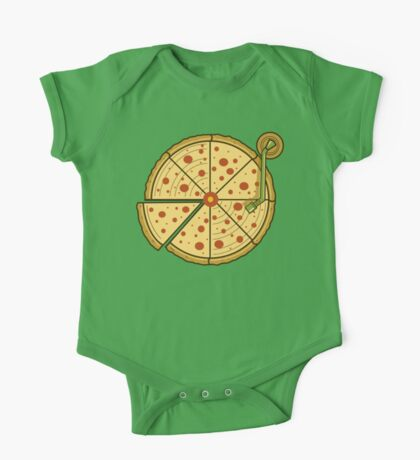 Pizza Vinyl One Piece - Short Sleeve