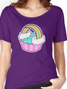 Cute Rainbow Cupcake Women's Relaxed Fit T-Shirt