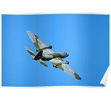 English Electric CANBERRA  Bomber  Aircraft  Poster