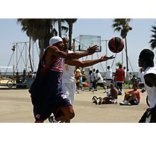 HOOPS IN VENICE 9 Photographic Print