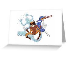 Mutants Unite Greeting Card