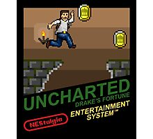 NEStalgia: Uncharted: Drake's Fortune Photographic Print