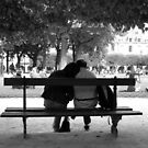 Lovers in the Park by Deanna Roberts Think in Pictures