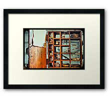 Bits and Pieces TTV Framed Print