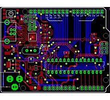 Arduino PCB  Photographic Print