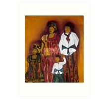 Sawa family Art Print
