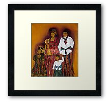 Sawa family Framed Print