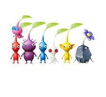 pikmin plain Photographic Print