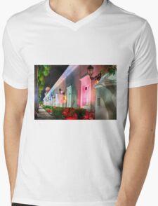 Holiday Scenic at La Princesa Mens V-Neck T-Shirt