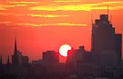 Sunset over Melbourne 8 by Paige