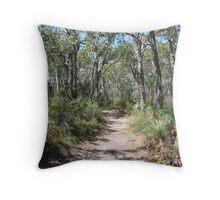 Bush Track - Glenelg River Throw Pillow