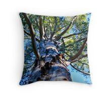 Gloucester tree Throw Pillow