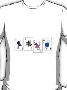 Through The Eras Playing Cards T-Shirt