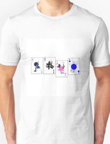 Through The Eras Playing Cards T-Shirt