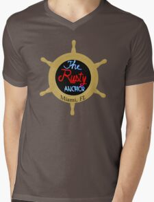 The Rusty Anchor Mens V-Neck T-Shirt