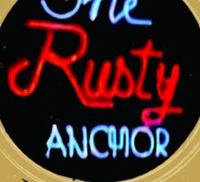 The Rusty Anchor Sticker