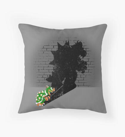 Becoming a Legend - Bowser Throw Pillow