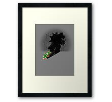 Becoming a Legend - Bowser Framed Print
