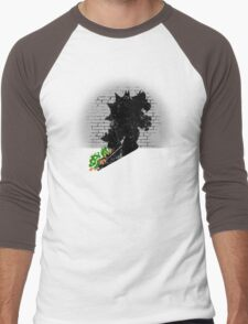 Becoming a Legend - Bowser Men's Baseball ¾ T-Shirt